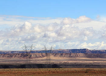 Powerlines and mesa 2