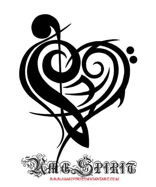 requested trouble clef tattoo by umespirit on deviantart. Black Bedroom Furniture Sets. Home Design Ideas