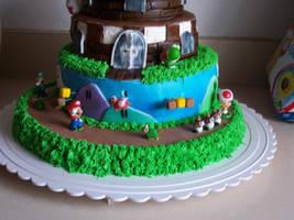 Super Mario Birthday Cake 2 by JasonChapman