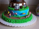 Super Mario Birthday Cake 2