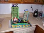 Transformers Birthday Cake 1