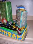 Transformers Birthday Cake 2