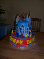 Spiderman Birthday Cake 1 by JasonChapman