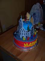 Spiderman Birthday Cake 2 by JasonChapman