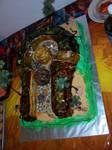 Indiana Jones Birthday Cake 1