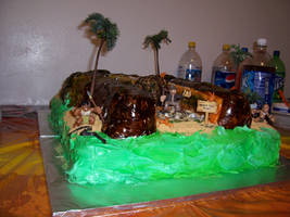 Indiana Jones Birthday Cake 4 by JasonChapman