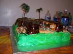 Indiana Jones Birthday Cake 4