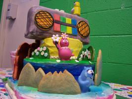 Yo Gabba Gabba Birthday Cake 2 by JasonChapman