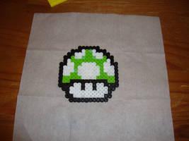 Super Mario 1-Up Mushroom by JasonChapman