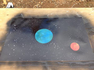 First Try Ever, Space Spraypaint