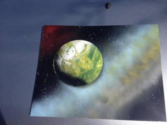 Green Planet by JasonChapman