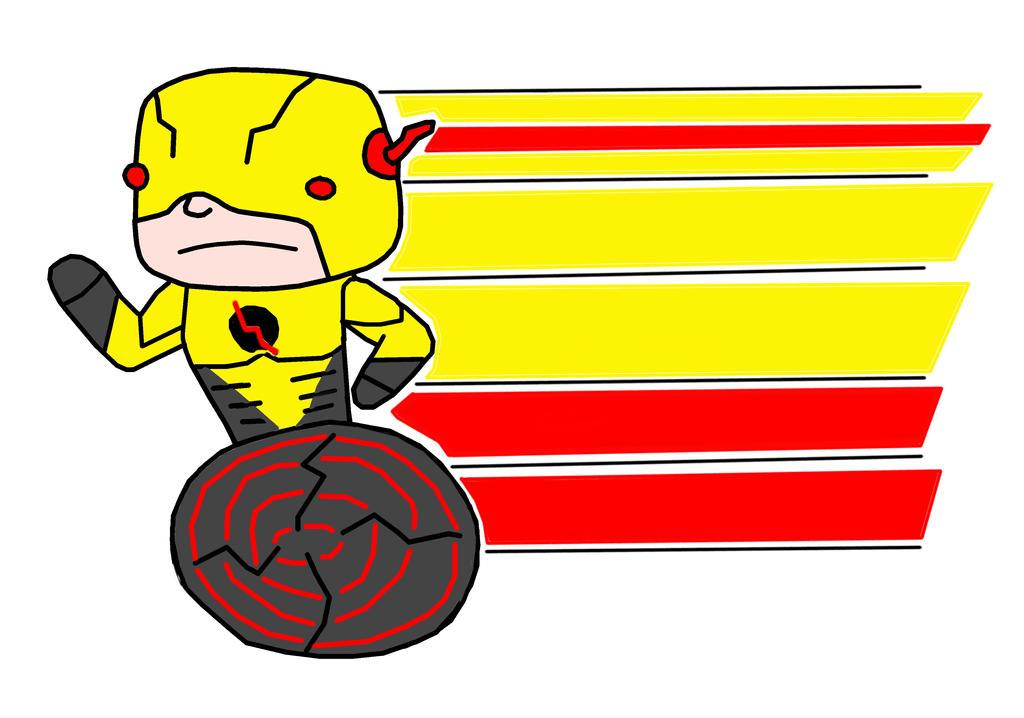 Reverse Flash (TV Series) Chibi by jupiter1996