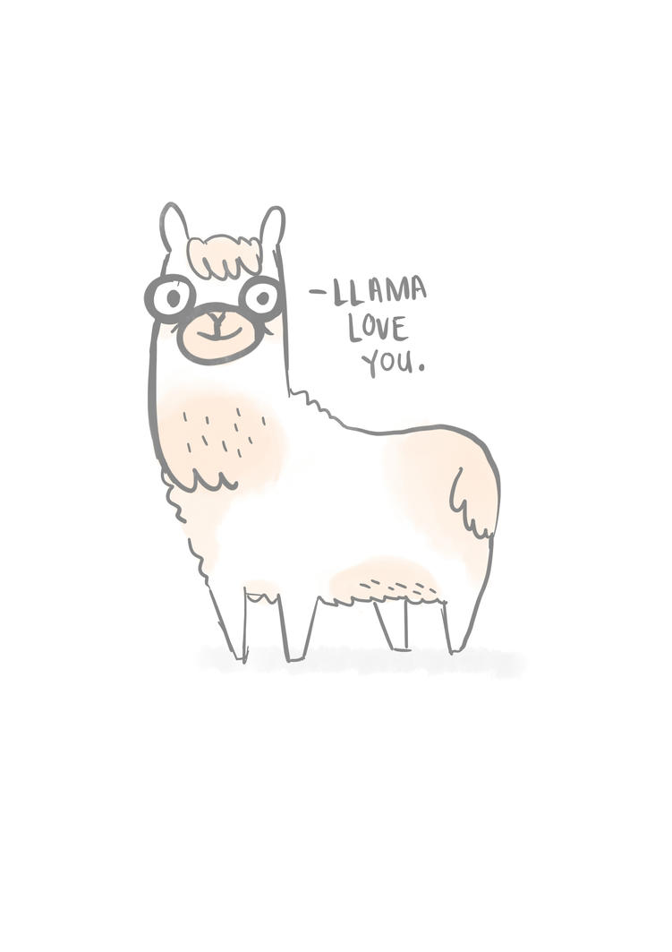 LLAMA LOVE YOU by tyresesakura