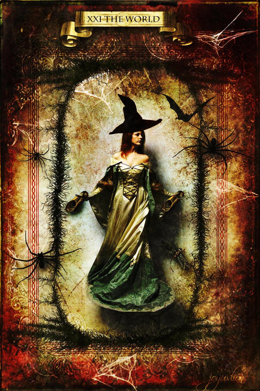 XXI World Halloween Tarot Card By Joyuslion On DeviantArt