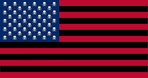 US Flag revised by Mark Twain by Zsantz