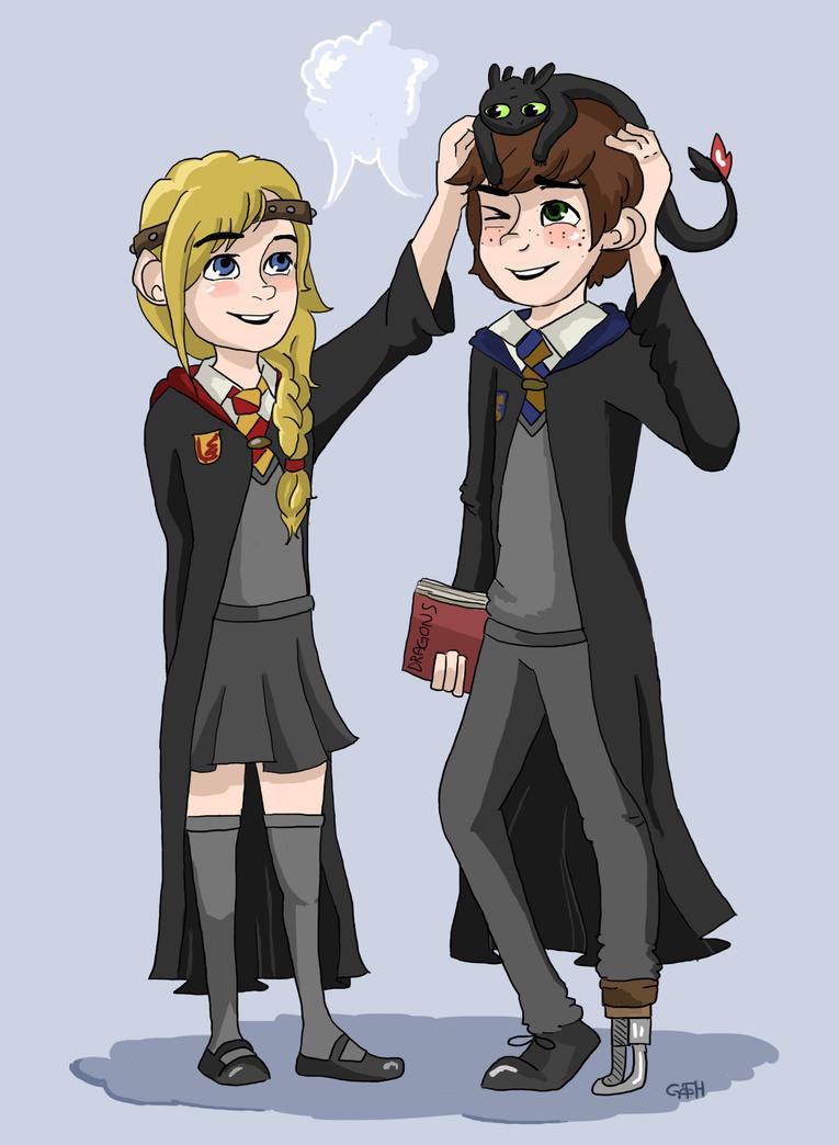 (◊)  Approche-toi de moi, sers-moi fort, avant qu'on se sépare, avant qu'on se separe. Hiccstrid_at_hogwarts_by_eas123-d70l98l