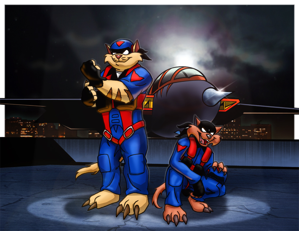SWAT Kats by adamantsquirrel by Gatekat
