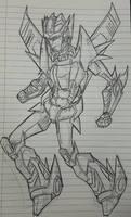 Aeroshock sketch by nix tempesedo