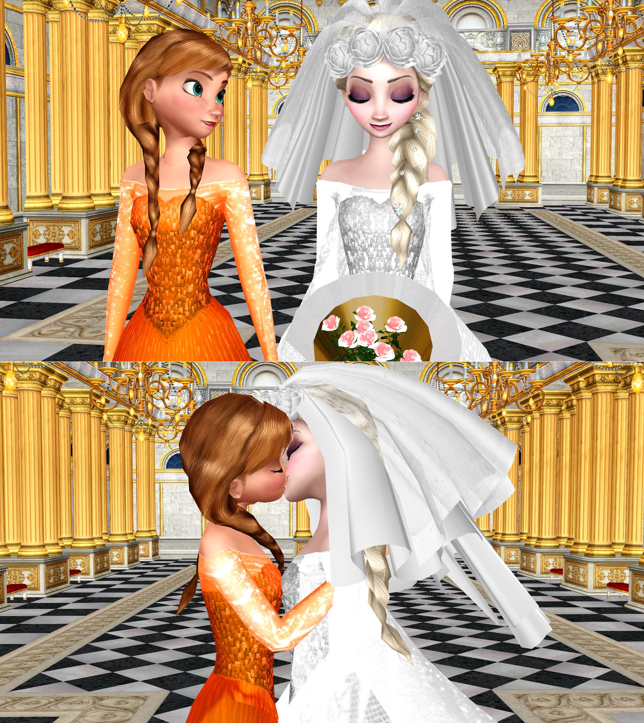 Frozen elsa and anna lesbian