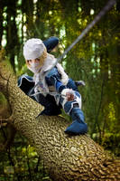 Sheik - Legend of Zelda by JilliD