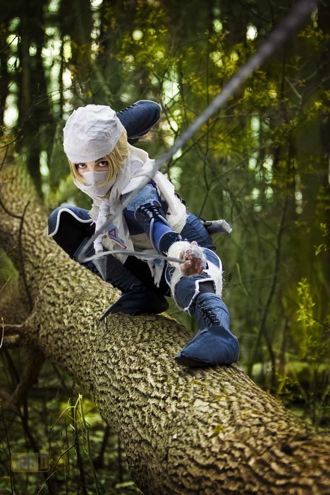 Legend of zelda sheik cosplay