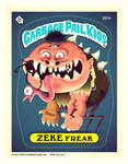 Garbage Pail Kids - ZEKE Freak