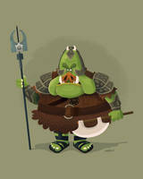 Gamorrean Guard by TheBeastIsBack