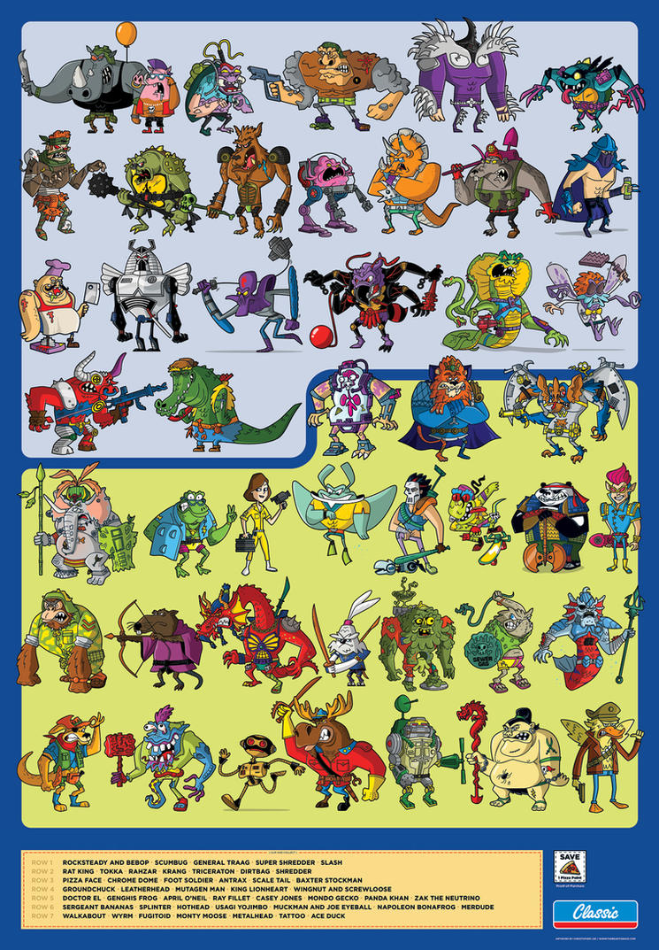 TMNT Compendium Poster by TheBeastIsBack