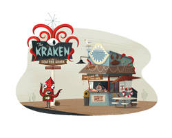 The Kraken - Seafood Shack by TheBeastIsBack