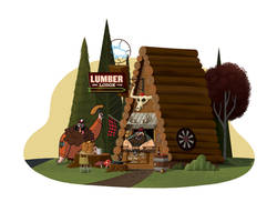 The Lumber Lodge by TheBeastIsBack