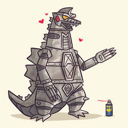 Mecha Godzilla by TheBeastIsBack
