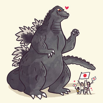 Godzilla 1989 by TheBeastIsBack