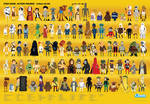 Star Wars - Action Figure Compendium Poster