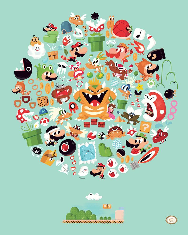 Super Mario Bros. 3 by TheBeastIsBack