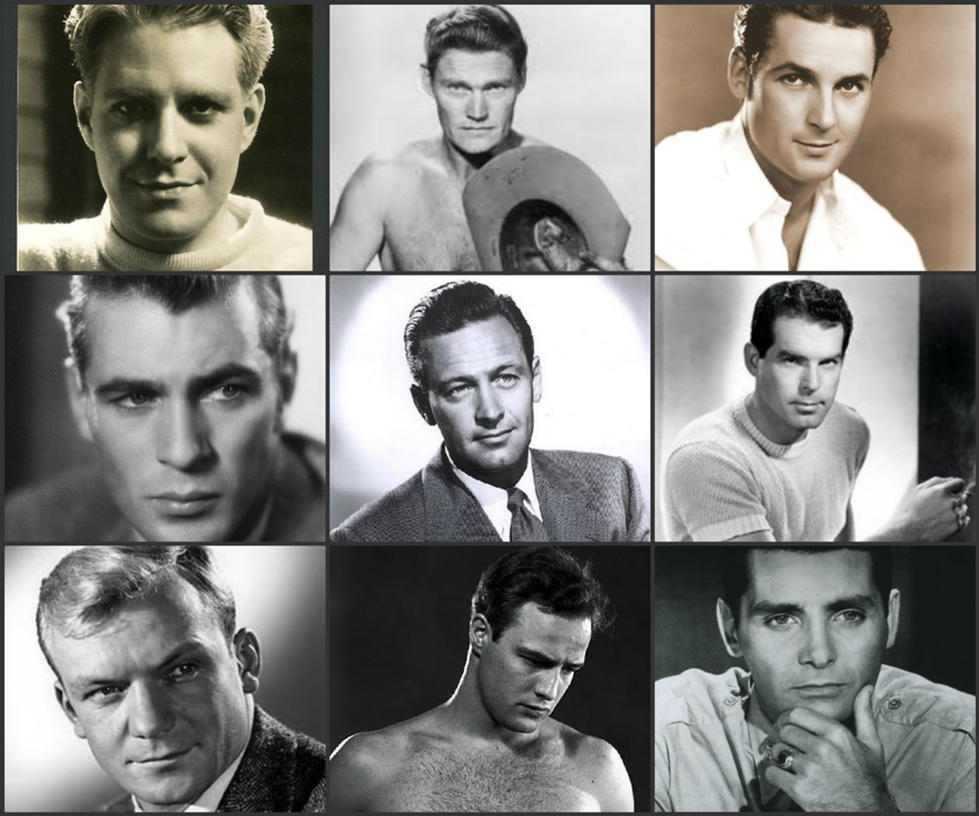 Handsome faces of Hollywood's Golden Age. by OfficerMark ...