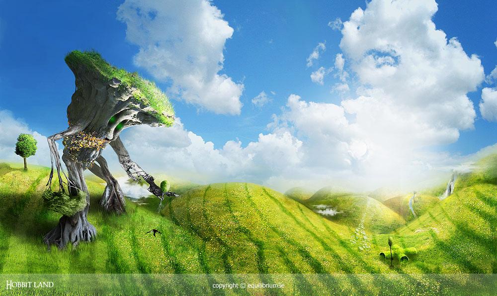 hobbit land by equilibrium3e