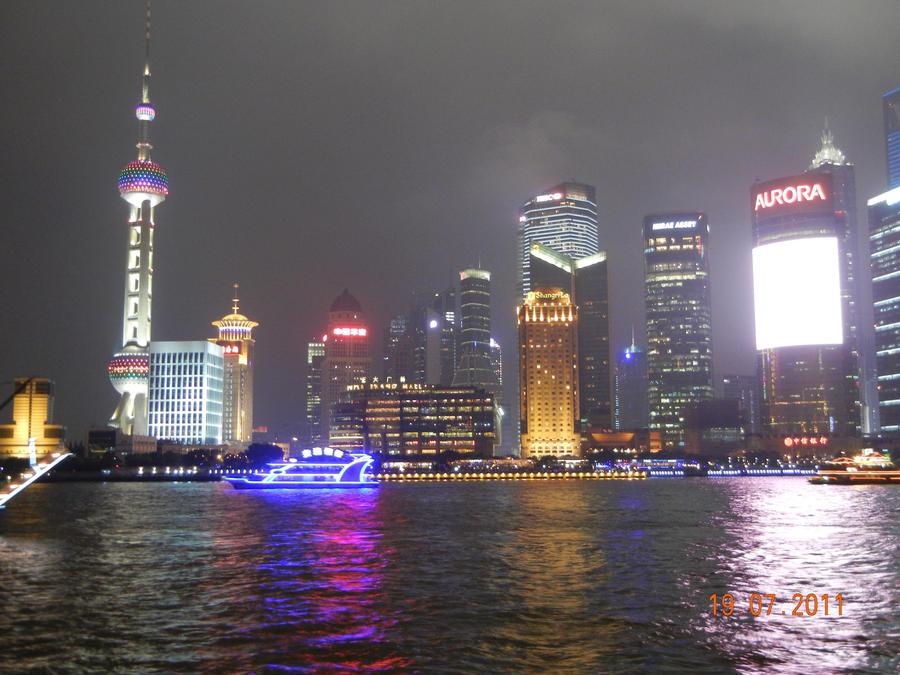 Shanghai Cityscape 2 by Siartha