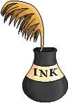 +|F2U|+ Quill And Ink Pot