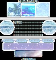 +|F2U|+ Simple Sea Custombox by RariDecor
