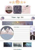 +|F2U|+ Snowy Night Custombox by RariDecor