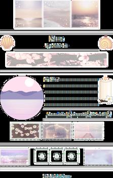 +|F2U|+ Pastel Sea Shores Custombox
