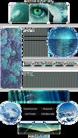 +|F2U|+ Ocean Aesthetic Custombox by RariDecor