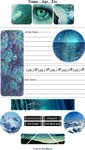 + F2U + Ocean Aesthetic Custombox