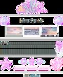 + F2U + Pastel Ocean Custombox