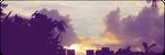  F2U  Purple Sunset Divider by RariDecor