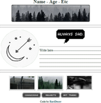 |F2U| Dark Forest Custombox