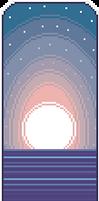 {F2U} Pastel blue-pink divider
