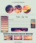 {F2U} Sunset custombox