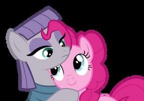 Pinkie and Maud Pie hug by AwokenArts