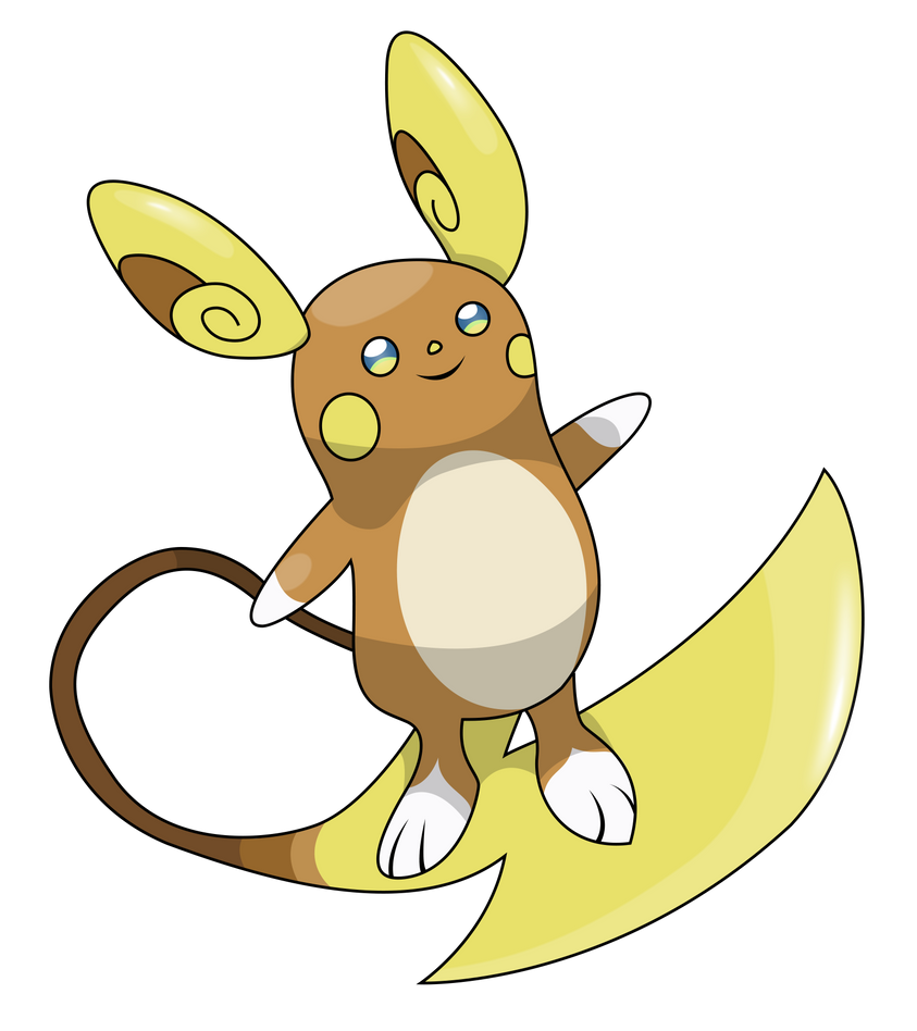 Pokemon Alola Raichu Images
